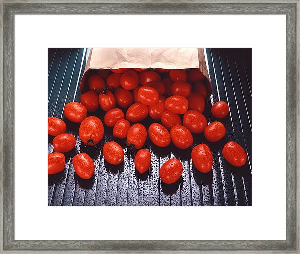 A Bag Of Tomatoes Framed Print