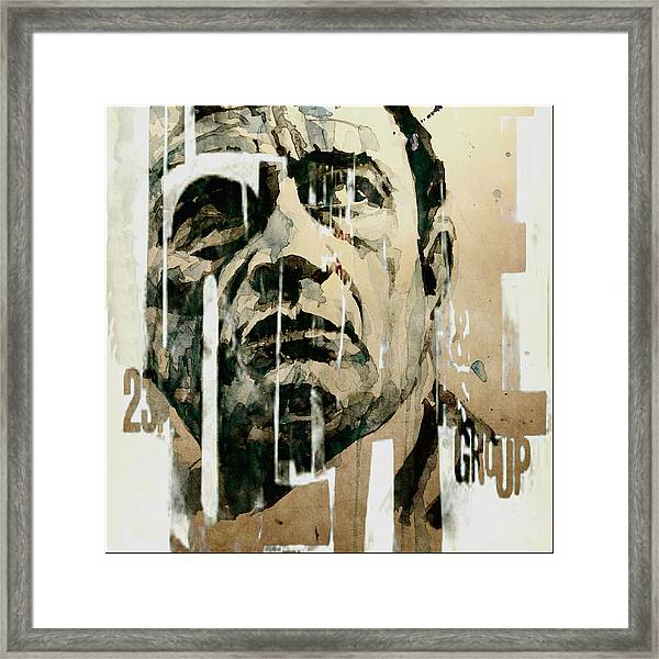 A Boy Named Sue Framed Print