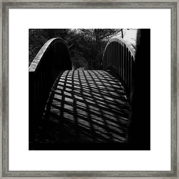 A Bridge Not Too Far Framed Print