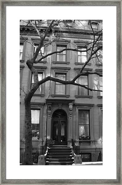 A Brownstone In Brooklyn Framed Print