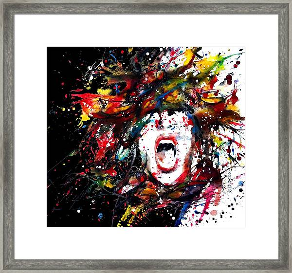 A Bug Free Mind Framed Print by Dreja Novak