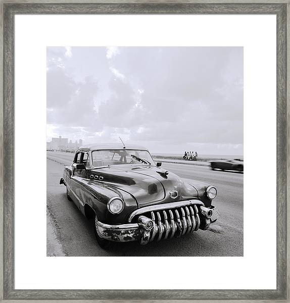 A Buick Car Framed Print