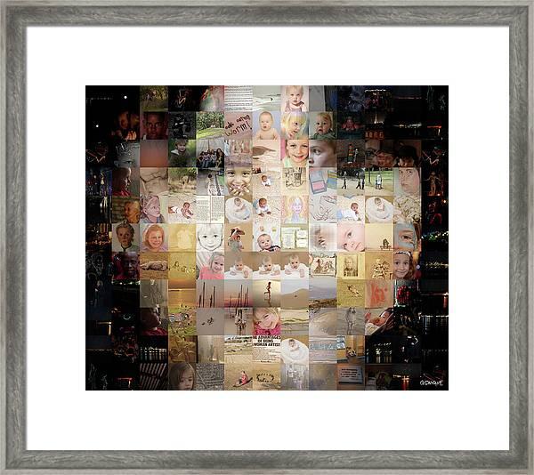A Child - Many Children Framed Print