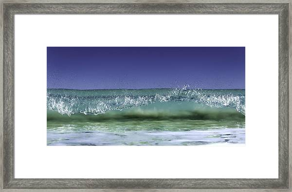 A Clean Break Framed Print