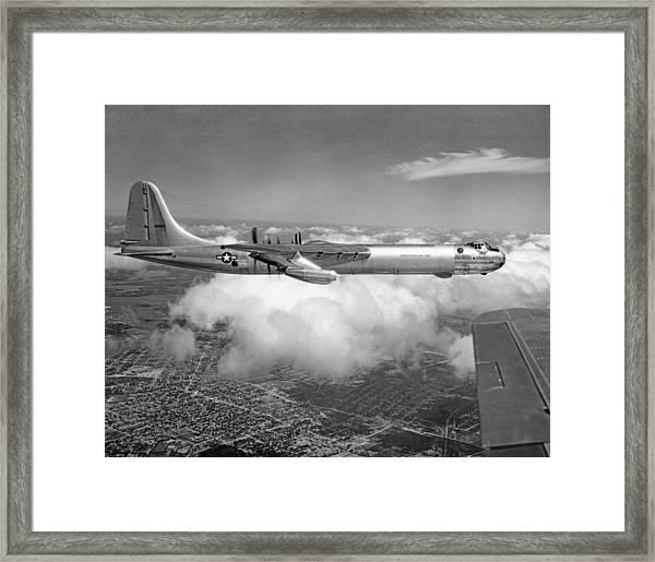 A Convair B-36f Peacemaker Framed Print