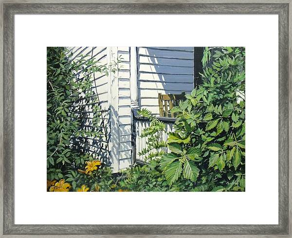 A Corner Of Summer Framed Print