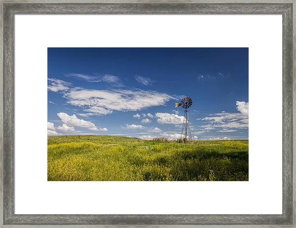 A Country Afternoon Framed Print