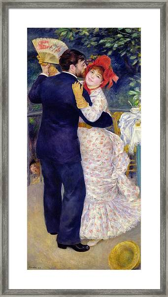A Dance In The Country Framed Print