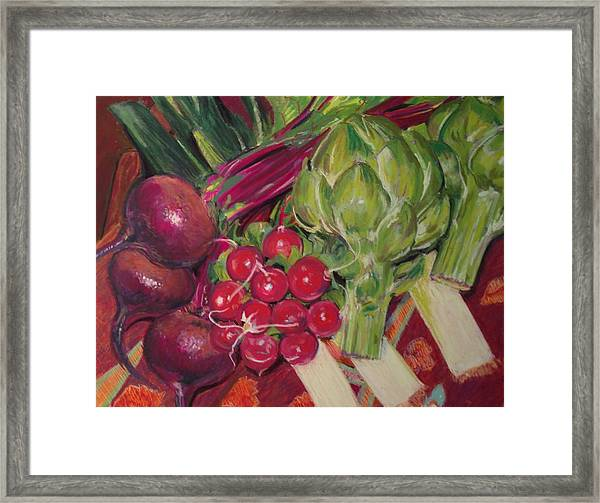 A Day In My Kitchen Framed Print