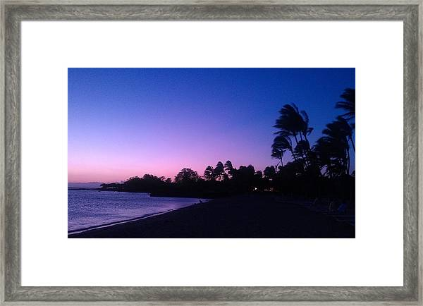 A Day In Paradise Framed Print by Anne Gerstenberger