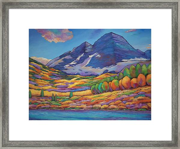 A Day In The Aspens Framed Print