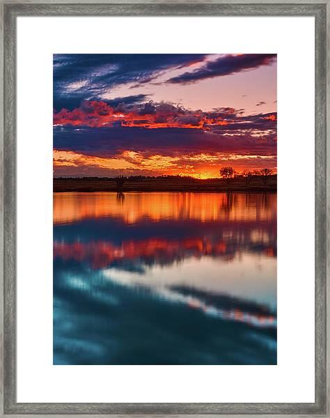 A Denver Dawn Framed Print