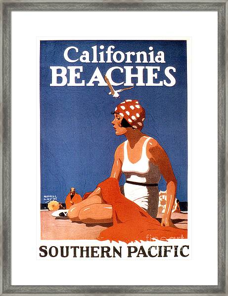 California Beaches Framed Print