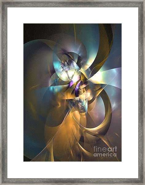 A Distant Melody Framed Print