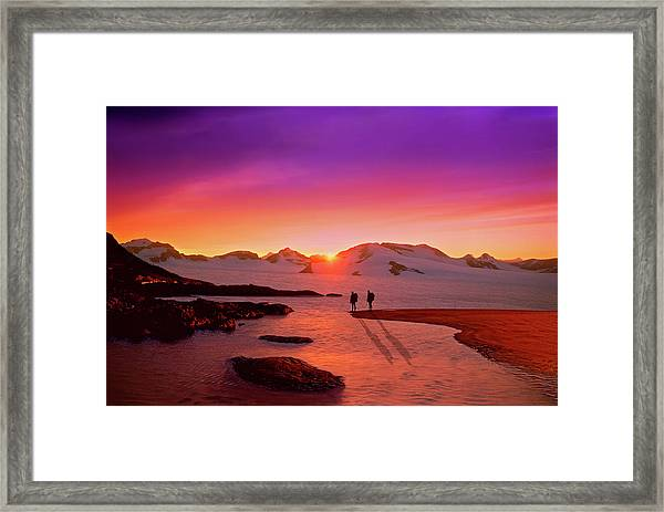 A Far-off Place Framed Print