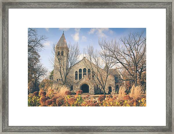 A Fine Autumn Day Framed Print