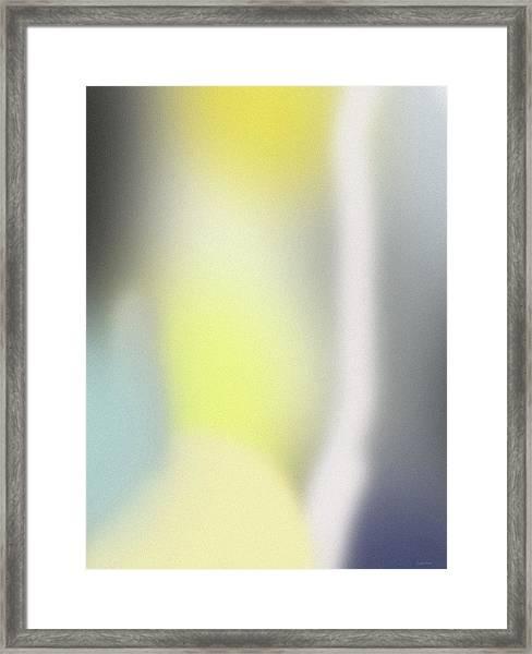 A Fleeting Glimpse 1- Art By Linda Woods Framed Print