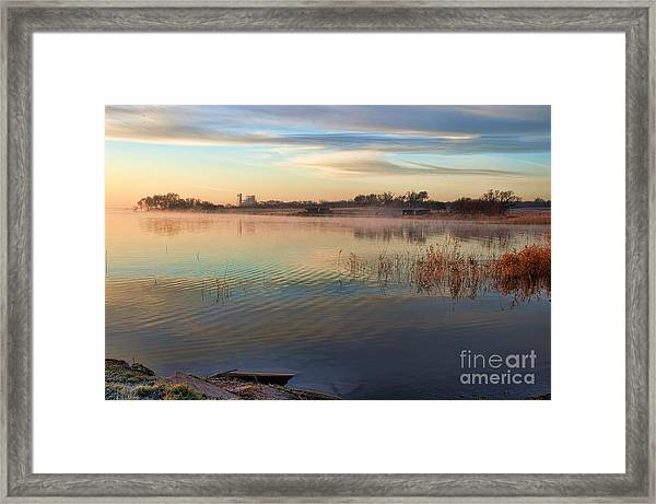 A Gentle Morning Framed Print