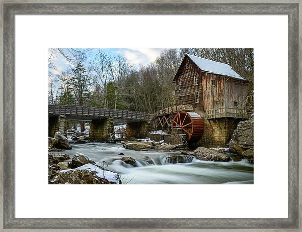 A Glimpse Of Antiquity Framed Print