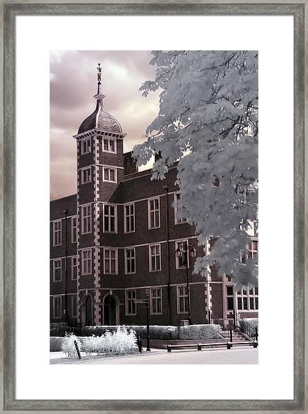 A Glimpse Of Charlton House, London Framed Print