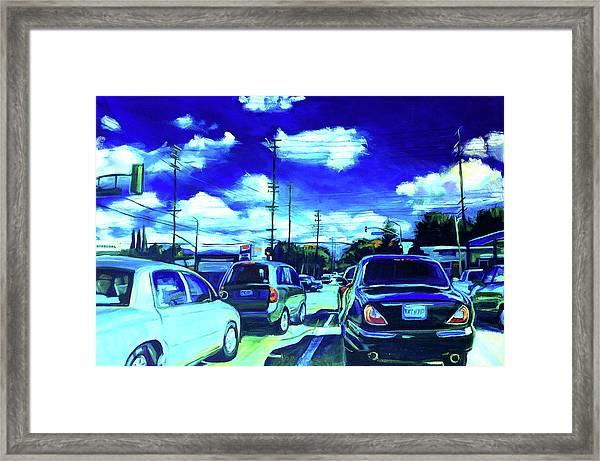 A Good Day Framed Print