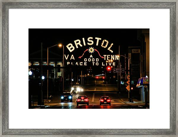 A Good Place To Live Framed Print