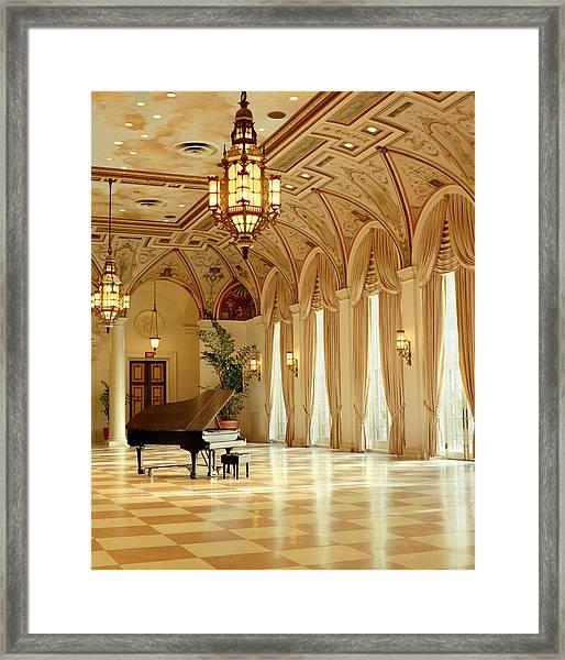 A Grand Piano Framed Print