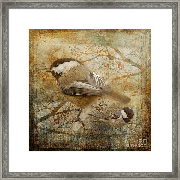 A Harbinger Of Changes 2015 Framed Print