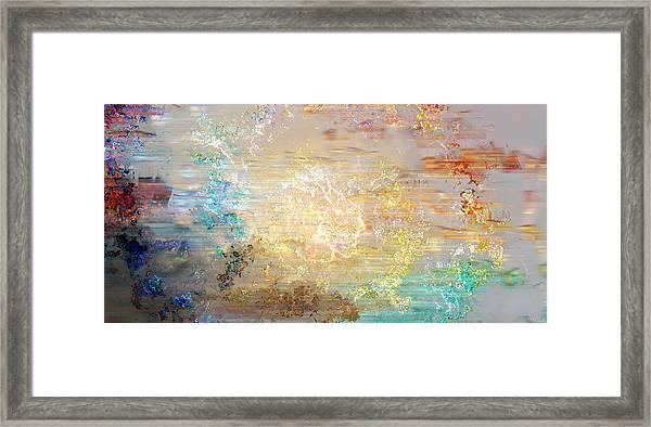A Heart So Big - Custom Version 4 - Abstract Art Framed Print