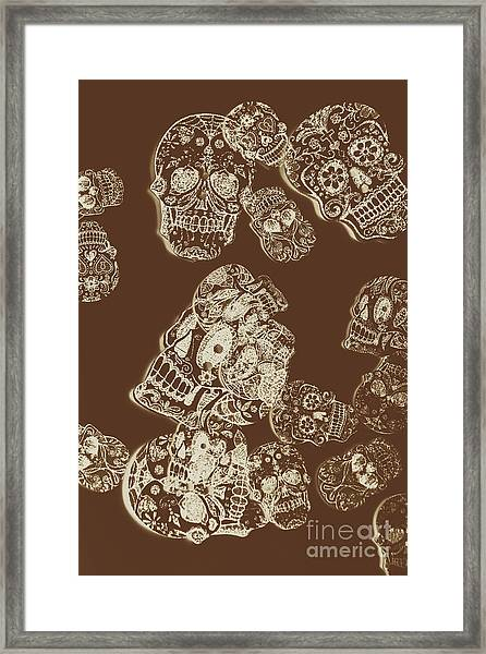 A Holiday Inversion  Framed Print