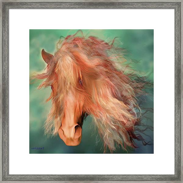 A Horse Called Copper Framed Print