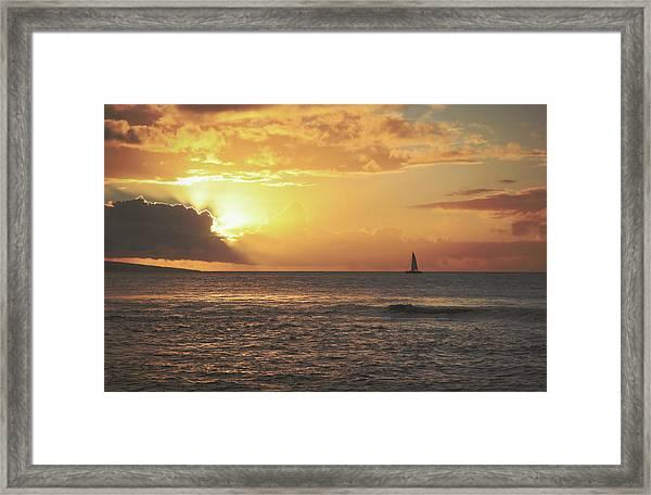 A Journey's End Framed Print