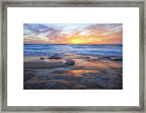 A La Jolla Sunset #1 Framed Print
