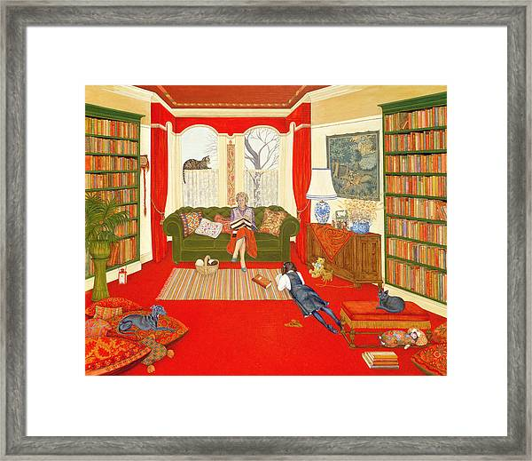 A Lazy Afternoon Framed Print
