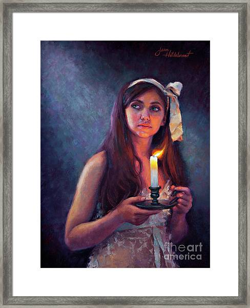 A Light Unto My Path Framed Print