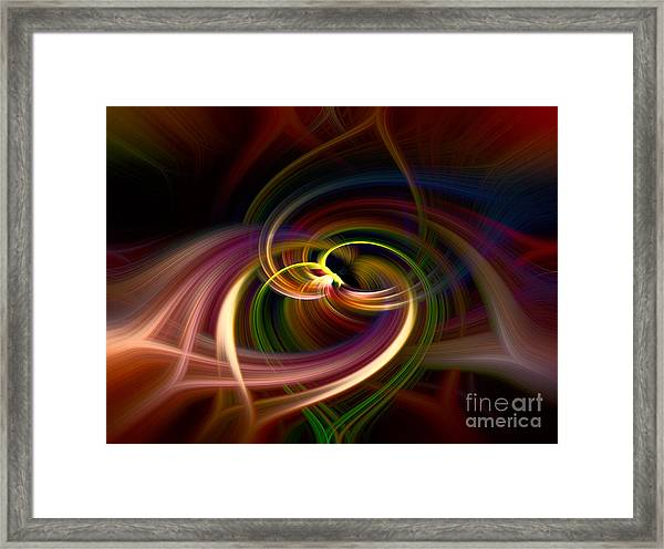 A Little Love Framed Print