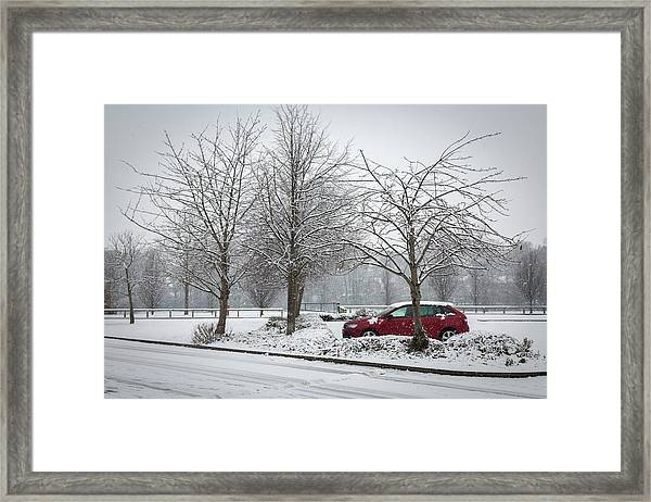 A Lonely Commute Framed Print
