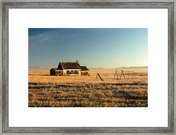 A Long, Long Time Ago Framed Print