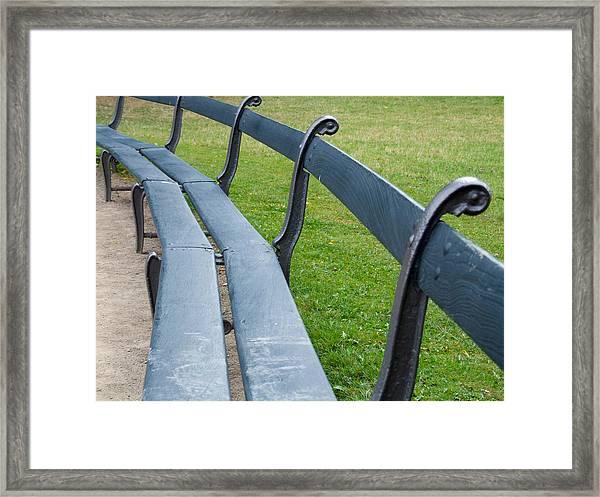 A Long Sit Down Framed Print