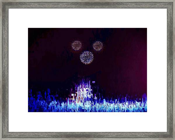 A Magical Night Framed Print