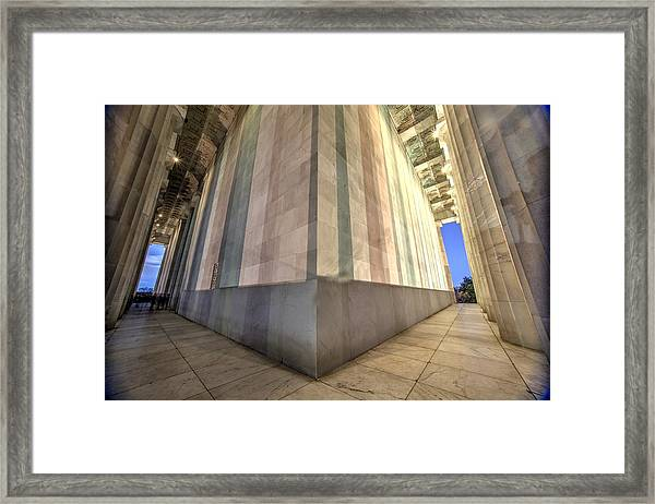 A Matter Of Perspective Framed Print by John King