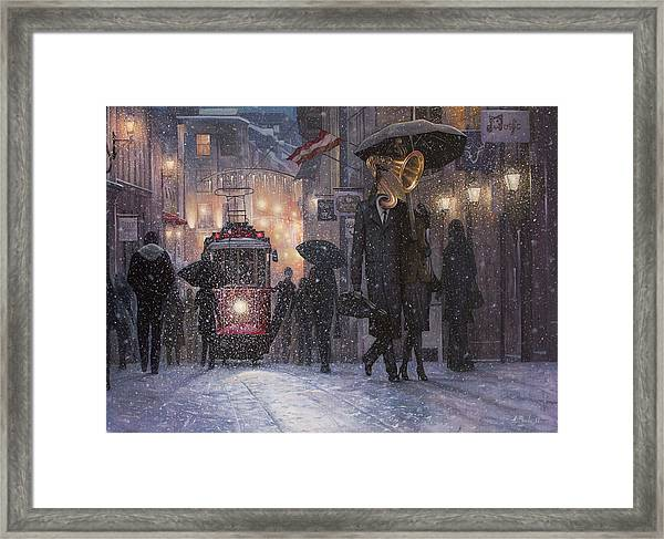 A Midwinter Night's Dream Framed Print
