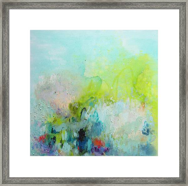 A Most Delicate Situation Framed Print