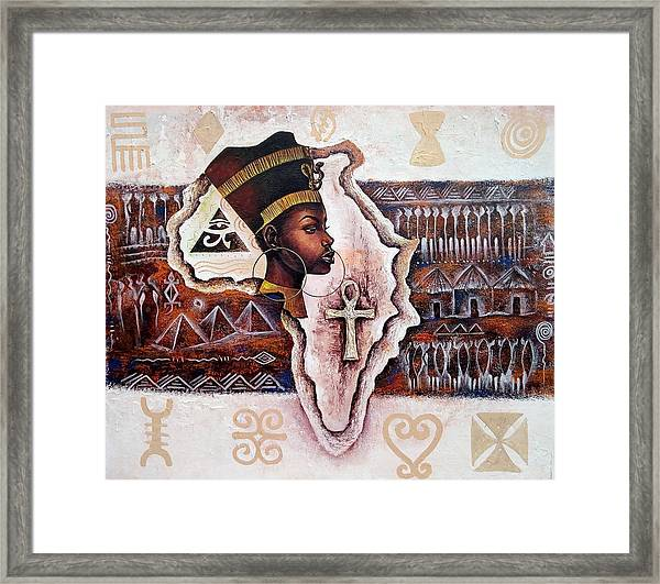 A Mother To All Framed Print