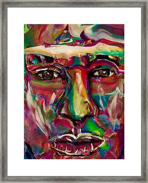 A New Man Framed Print