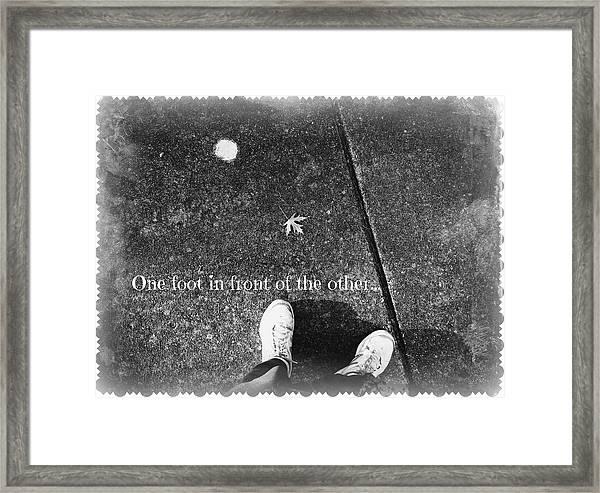 A New Path Framed Print
