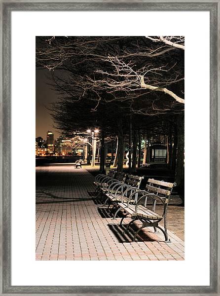 A Night In Hoboken Framed Print by JC Findley