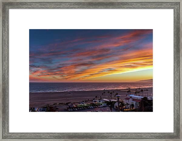 A Night Out At The Jonathan Framed Print