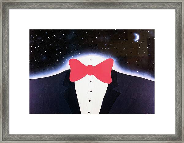 A Night Out With The Stars Framed Print