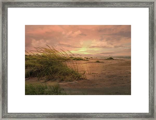 A Painted Sunrise Framed Print